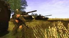 Piel de un soldado ruso