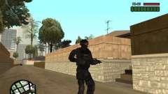 Comando de los SWAT 4 para GTA San Andreas