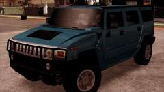 Hummer H2 SUV para GTA San Andreas