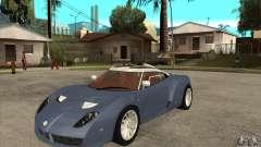 Spyker C12 Zagato para GTA San Andreas