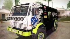 KAMAZ maestro 4911 Monster Energy