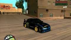 Subaru Impreza WRC STI 2007 Ken Block para GTA San Andreas