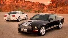 Pantallas de carga en el estilo del Ford Mustang