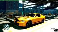 Shelby GT500 Super Snake 2011 para GTA 4