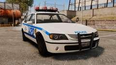 Nueva patrulla de la policía