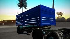 Remolque Kamaz 65117 grano para GTA San Andreas