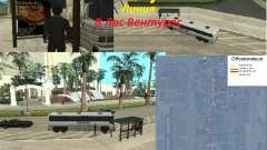 Línea de autobús en Las Venturas para GTA San Andreas