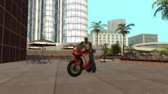 Ducati 1198R para GTA San Andreas