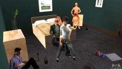 Proyecto x en la construcción de CJ para GTA San Andreas