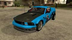 Ford Mustang Drag King para GTA San Andreas