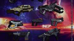 Mass Effect Weapons Pack
