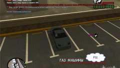 Conducir su coche en cualquier lugar para GTA San Andreas