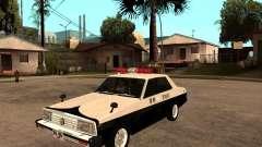 Nissan Skyline 2000 GT Police para GTA San Andreas