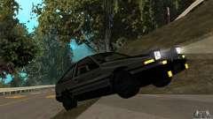 Toyota Sprinter Trueno GT-APEX AE86 83 Initial D para GTA San Andreas