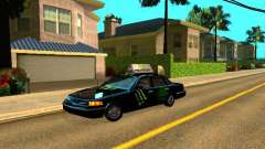 Ford Crown Victoria Taxi para GTA San Andreas