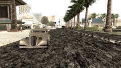 New roads in Las Venturas para GTA San Andreas