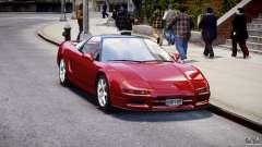 Acura NSX 1991 para GTA 4