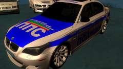 BMW M5 E60 policía para GTA San Andreas