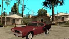 Plymouth Cuda 426 para GTA San Andreas