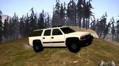 Chevrolet Suburban белый para GTA San Andreas