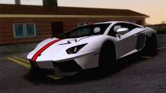 Trabajos de pintura Lamborghini Aventador LP700-