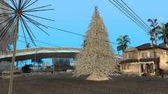 Víspera de año nuevo en la calle Grove para GTA San Andreas