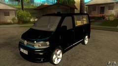 Volkswagen Caravelle 2011 SWB para GTA San Andreas