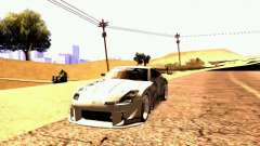 Nissan 350Z Avon Tires para GTA San Andreas