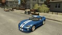 Dodge Viper GTS para GTA 4