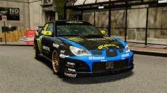 Subaru Impreza WRX STI GD Gymkhana Ken Block para GTA 4