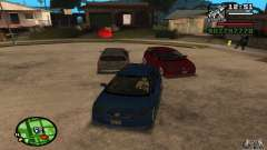 Honda Civic Type R stock para GTA San Andreas