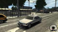 Mercedes-Benz 600SEL wheel1 tinted para GTA 4