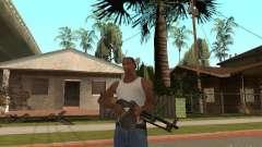 Ametralladora ligera Dâgterëva para GTA San Andreas