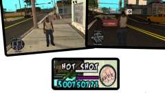 HUD by Hot Shot v.2.2 for SAMP para GTA San Andreas
