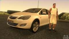 Opel Astra 2010 para GTA San Andreas