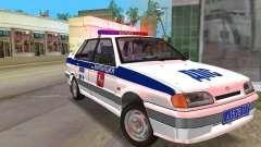 VAZ 2115 DPS para GTA Vice City