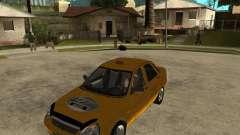 "LADA 2170 ""priora"" Taxi para GTA San Andreas"