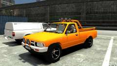 Toyota Hilux 1989-1993 Single cab v1 para GTA 4