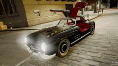 Mercedes-Benz 300 SL Gullwing para GTA 4
