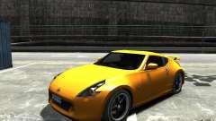 Nissan 370z Tuned Final para GTA 4