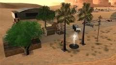 Nuevas instalaciones para el aeropuerto en el desierto para GTA San Andreas