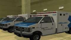 Ambulancia de GTA 4 para GTA San Andreas