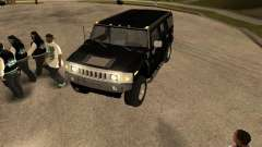 Sistema de alarma para coches para GTA San Andreas