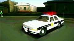 Ford Crown Victoria LTD 1991 HILL-VALLEY Police para GTA San Andreas