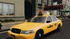 Ford Crown Victoria NYC Taxi 2012