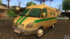 Servicios de transporte gacela 2705 para GTA San Andreas