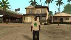 Camiseta con hierba para GTA San Andreas