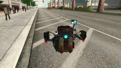 Un nuevo Jetpack para GTA San Andreas