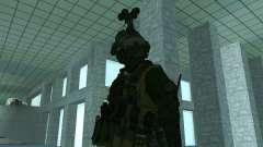 El tercer soldado de la piel Cod MW 2
