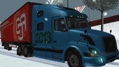Remolque Volvo VNL 670 para GTA San Andreas